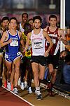 12 MAR 2016:  Morgan McDonald of the University of Wisconsin leads the 3000m Run during the Division I Men's Indoor Track & Field Championship held at the Birmingham Crossplex in Birmingham, Al. Tom Ewart/NCAA Photos