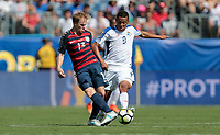 Nashville, TN - Saturday July 08, 2017:  Dax McCarty during a 2017 Gold Cup match between the men's national teams of the United States (USA) and Panama (PAN) at Nissan Stadium.