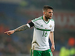Oliver Norwood of Northern Ireland during the international friendly match at the Cardiff City Stadium. Photo credit should read: Philip Oldham/Sportimage