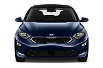 Car photography straight front view of a 2019 KIA Ceed-SW More 5 Door Wagon Front View
