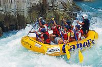 Rafting auf dem Río Tampaón in der Region Huasteca, Mexiko, Nordamerika