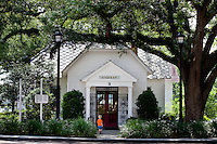 Built in 1836, the Walton-DeFuniak Library, is Florida's oldest to operate from the same location..COLIN HACKLEY PHOTO