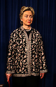 Washington, DC - November 14, 2002 -- United States Senator Hillary Rodham Clinton (Democrat of New York), holds a press conference with United States Senator Chuck Schumer (Democrat of New York) and United States Senator Jon Corzine (Democrat of New Jersey) in the United States Capitol in Washington, DC on November 14, 2002. The 3 senators called for the inclusion of a 9/11 Investigative Commission in the Homeland Security Bill. .Credit: Ron Sachs / CNP