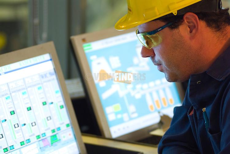 OSB plant control room