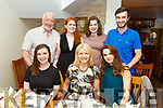 Alannah McElligott from Tralee celebrating her 21st birthday in Bella Bia on Saturday night<br /> Seated l to r: Alannah McElligott, Avril Hewitt and Nicola McDonagh.<br /> Back l to r: Dermot McElligott, Catriona Smiddy, Casey and Conor McElligott