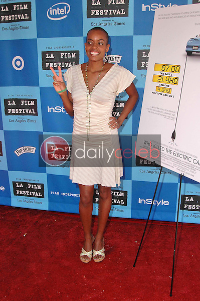 Colette Divine<br />at the Los Angeles Film Festival Screening of &quot;Who Killed The Electric Car&quot;. Landmark Regent Theater, Los Angeles, CA. 06-24-06<br />Dave Edwards/DailyCeleb.com 818-249-4998