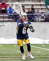 University at Albany Men's Lacrosse defeats Drexel 18-5 on Feb. 24 at Casey Stadium.  Drexel goalkeeper Casey DuBois (#6). (Photo by Bruce Dudek / Cal Sport Media/Eclipse Sportswire)