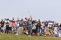 Padraig Harrington (IRL) plays his 2nd shot on the 6th hole during Thursday's Round 1 of the Dubai Duty Free Irish Open 2019, held at Lahinch Golf Club, Lahinch, Ireland. 4th July 2019.<br /> Picture: Eoin Clarke | Golffile<br /> <br /> <br /> All photos usage must carry mandatory copyright credit (© Golffile | Eoin Clarke)