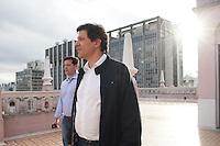 SAO PAULO, SP, 25 DE MARCO 2013 - AGENDA FERNANDO HADDAD  - O Prefeito de São Paulo Fernando Haadad participa  da solenidade de reinstalação do SINP - Sistema de Negociação Permanente no.Edifício Martinelli na região do centro cidade de São Paulo nesta segunda-feira, 25. .FOTO: POLINE LYS - BRAZIL PHOTO PRESS.