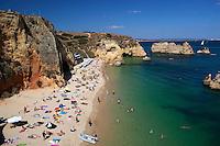 Portugal, Algarve, Lagos: Ponta da Piedade - Praia Dona Ana