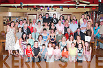 GET-TOGETHER: Martina Madden from Ballylongford (seated centre) celebrated her 21st birthday with family and friends in The Golf Hotel, Ballybunion, on Friday night..