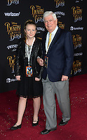 Chris Dodd &amp; Daughter at the premiere for Disney's &quot;Beauty and the Beast&quot; at El Capitan Theatre, Hollywood. Los Angeles, USA 02 March  2017<br /> Picture: Paul Smith/Featureflash/SilverHub 0208 004 5359 sales@silverhubmedia.com