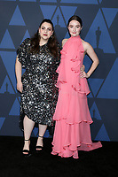 LOS ANGELES - OCT 27:  Beanie Feldstein, Kaitlyn Dever at the 11th Annual Governors Awards at the Dolby Theater on October 27, 2019 in Los Angeles, CA
