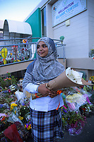 Qiana Ran at the Wellington Islamic Centre in Wellington, New Zealand on Tuesday, 19 March 2019. Photo: Dave Lintott / lintottphoto.co.nz