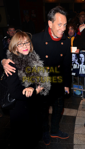 LONDON, ENGLAND - NOVEMBER 19 Richard E Grant at the 'Strangers on a Train' Press Night at the Gielgud Theatre, Shaftesbury Avenue on November 19, 2013 in London, England<br /> CAP/PP/MB<br /> &copy;Michael Ball/PP/Capital Pictures