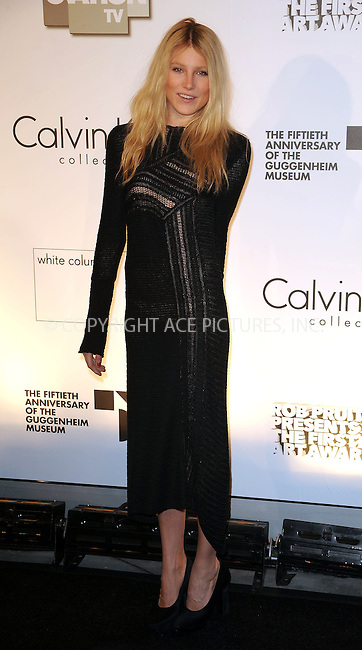 WWW.ACEPIXS.COM . . . . . ....October 29 2009, New York city....Model Dree Hemingway arriving at the 1st Annual Guggenheim Art Awards at the Solomon R. Guggenheim Museum on October 29, 2009 in New York City.....Please byline: KRISTIN CALLAHAN - ACEPIXS.COM.. . . . . . ..Ace Pictures, Inc:  ..tel: (212) 243 8787 or (646) 769 0430..e-mail: info@acepixs.com..web: http://www.acepixs.com