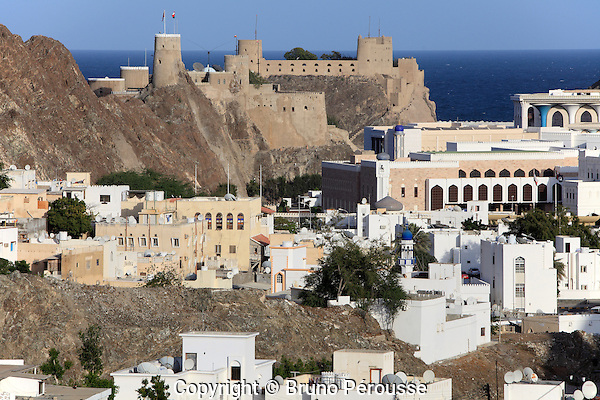 Asie; Moyen Orient; Golfe d'Oman; sultanat d'Oman; vieux Mascate//Asia; Middle East; Gulf of Oman; sultanate of Oman; old Muscat