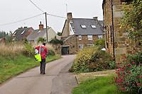 Teenage boy delivering papers..©shoutpictures.com..john@shoutpictures.com
