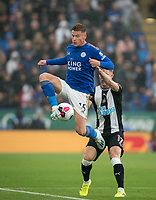 Harvey Barnes of Leicester City during the Premier League match between Leicester City and Newcastle United at the King Power Stadium, Leicester, England on 29 September 2019. Photo by Andy Rowland.