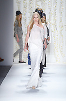 Models walk runway at Rachel Zoe Show during Mercedes Benz IMG New York Fashion Week Spring/Summer 2013 at Lincoln Center, New York, NY on September 12, 2012