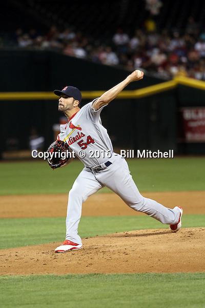 Jaime Garcia - 2016 St. Louis Cardinals (Bill Mitchell)