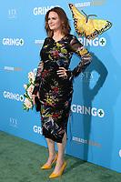 """LOS ANGELES - MAR 6:  Emily Deschanel at the """"Gringo"""" Premiere at Regal LA Live on March 6, 2018 in Los Angeles, CA"""
