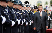 Speaker of the United States House of Representatives John Boehner (Republican of Ohio) attends the 32nd Annual National Peace Officers' Memorial Service at the West Front Lawn of the U.S. Capitol May 15, 2013 in Washington, DC. Obama attended the annual event to honor law enforcement who were killed in the line of duty in the previous year..Credit: Olivier Douliery / Pool via CNP