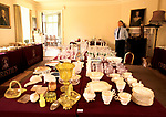 Country House Auction at Newnham Hall Northamptonshire 1994. Effects in the snooker room. Chritsies auction 1990s UK.