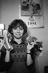 Świteczny przydział wędlin na kartki  żywnościowe. Kraków, grudzień 1981 rok.
