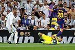 Supercopa de Espa&ntilde;a - Vuelta<br /> R. Madrid vs FC Barcelona: 2-0.<br /> Sergio Ramos, Keylor Navas &amp; Sergi Roberto.