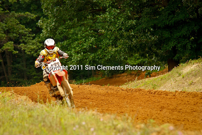 MX action at Battle Creek Motorcycle Club, Battle Creek, Michigan