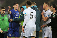 Pictured: Tuesday 01 May 2018<br /> Re: Swansea U19 v Cardiff U19 FAW Youth Cup Final at the Liberty Stadium, Swansea, Wales, UK