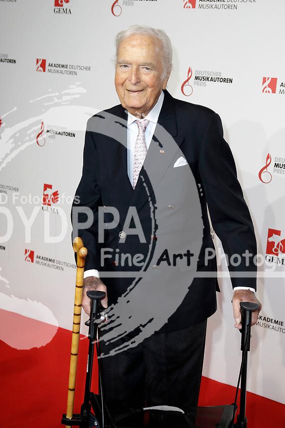 Martin Böttcher bei der 10. Verleihung des Deutschen Musikautorenpreises 2018 im Hotel Ritz Carlton. Berlin, 15.03.2018
