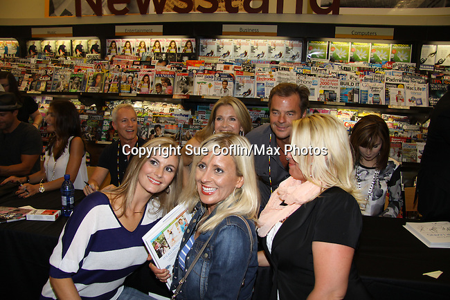 "Days Of Our Lives - Melissa Reeves & Wally Kurth and fans meets the fans as she signs ""Days Of Our Lives Better Living"" on September 27, 2013 at Books-A-Million in Nashville, Tennessee. (Photo by Sue Coflin/Max Photos)"
