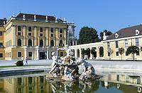 sp&auml;tbarocke Sommerresidenz Schloss Sch&ouml;nbrunn, Wien, &Ouml;sterreich, UNESCO-Weltkulturerbe<br />  late Baroque summerresidence Schloss Sch&ouml;nbrunn, Vienna, Austria, world heritage