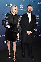 LOS ANGELES, CA - JANUARY 05: Sarah Barthel (L) and Josh Carter of Phantogram attend Michael Muller's HEAVEN, presented by The Art of Elysium at a private venue on January 5, 2019 in Los Angeles, California.<br /> CAP/ROT/TM<br /> &copy;TM/ROT/Capital Pictures