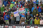 December 3, 2011:  USA's Marco Sullivan's fan club during the Super-G at the Audi Birds of Prey FIS World Cup ski championships at Beaver Creek Ski Resort, Colorado.