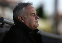Hartlepool United manager Dave Jones during the Sky Bet League Two match between Newport County and Hartlepool United at Rodney Parade, Newport, Wales, UK. Saturday 28 January 2017