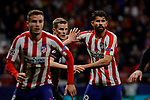 Diego Costa of Atletico de Madrid during the UEFA Europa League match between Atletico de Madrid and Bayer 04 Leverkusen at Wanda Metropolitano Stadium in Madrid, Spain. October 22, 2019. (ALTERPHOTOS/A. Perez Meca)