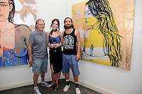 SANTA MONICA - JUN 25: Mallory Jansen, Guests at the David Bromley LA Women Art Exhibition opening reception at the Andrew Weiss Gallery on June 25, 2016 in Santa Monica, California