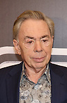 Andrew Lloyd Webber attends the 'Sunset Boulevard' Broadway Cast Photocall at The Palace Theatre on January 25, 2017 in New York City.