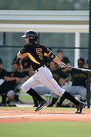 Pittsburgh Pirates outfielder Carl Anderson (5) during an Instructional League intersquad scrimmage on September 29, 2014 at the Pirate City in Bradenton, Florida.  (Mike Janes/Four Seam Images)