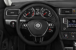 Car pictures of steering wheel view of a 2017 Volkswagen Jetta S 4 Door Sedan Steering Wheel