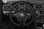 Car pictures of steering wheel view of a 2017 Volkswagen Jetta S 4 Door Sedan Steering Wheel