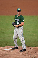 Daytona Tortugas pitcher Nick Howard (29) gets ready to deliver a pitch during a game against the Tampa Yankees on April 24, 2015 at George M. Steinbrenner Field in Tampa, Florida.  Tampa defeated Daytona 12-7.  (Mike Janes/Four Seam Images)