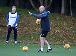 26.10.18 Rangers training: Gary McAllister