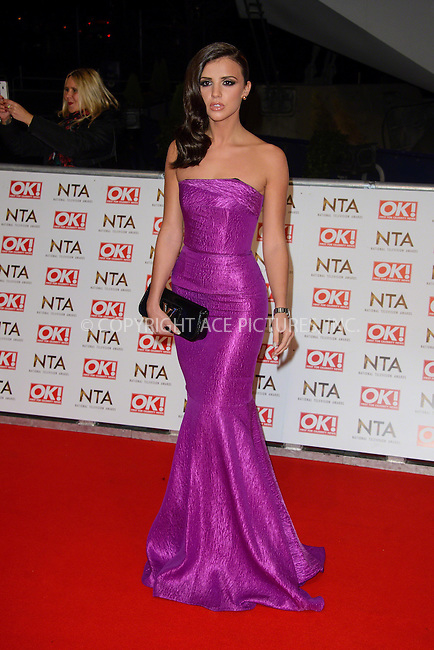 WWW.ACEPIXS.COM<br /> <br /> January 20 2015, London<br /> <br /> Lucy Mecklenburgh attends the National Television Awards at the O2 Arena on January 21 2015 in London<br /> <br /> <br /> By Line: Famous/ACE Pictures<br /> <br /> <br /> ACE Pictures, Inc.<br /> tel: 646 769 0430<br /> Email: info@acepixs.com<br /> www.acepixs.com
