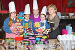 .CAKES; Young Entrepreneugs of Scoil Eoin, Balloonagh NS who bakes cakes on Friday for Mothers Day and had a sale at their school to raise funds. L-r: Linda Graham, Nathan Gleeson, Veronica Donovan (teacher), Katelyn Bunworth and Mary McMahon.