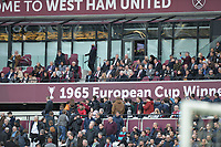 crowd Trouble at during West Ham United vs Burnley, Premier League Football at The London Stadium on 10th March 2018
