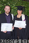 Bernard O'Shea Beaufort and Jana Smelkova Portmagee who graduated in Professional Cookery at the Autumn graduations which took place at the Brandon hotel on Friday.